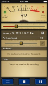 Recording-Apps Voice Record Pro iOS